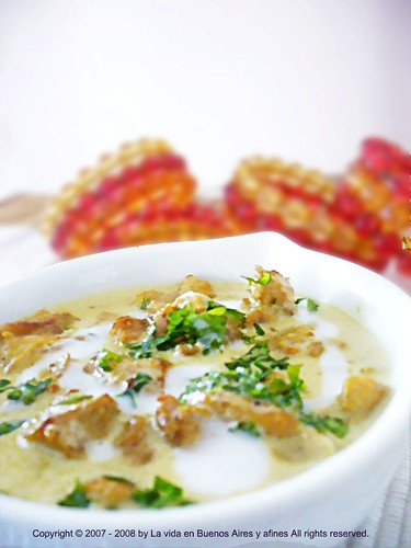 Chicken in coconut milk & Coriander