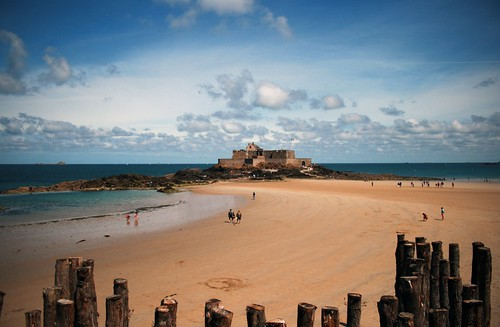 St-Malo's Fort Nationale. Photo: annso