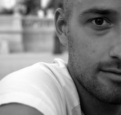 Carlo (Fabio Astone) Tags: boy portrait man eyes lips occhi sguardo uomo ritratto bocca biancoenero ragazzo