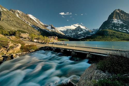 Swiftcurrent lake, Glacier N.P.