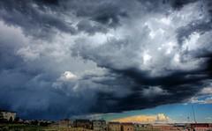 Rain Storm Colorado Springs Colorado