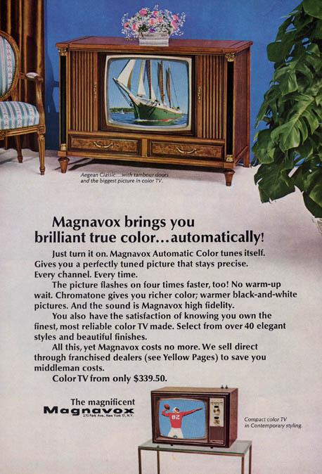 Magnavox color TV ad (1967)