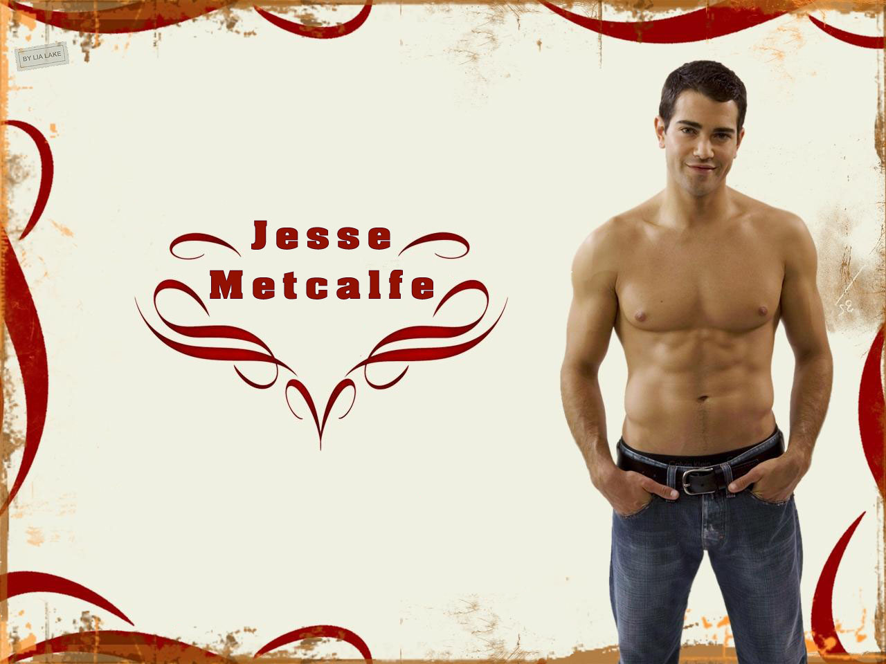 jesse metcalfe muscle