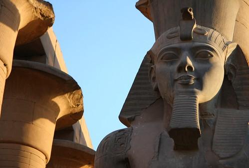 Ramses II & Luxor Temple Columns