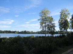 Semsvann (Ingwii) Tags: blue lake green water vann hjemme asker semsvann