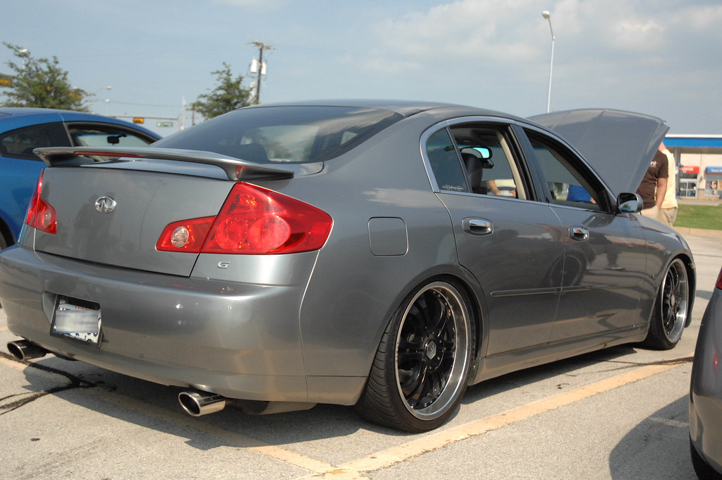 Any Ideas What Kind Of Exhaust This Guy Is Running Doesn't Look Like A Coupe I Was Only Aware Two Other 1st Gen Sedans Dual: 2004 G35 Sedan Exhaust At Woreks.co