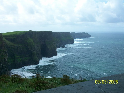 Ireland - Cliffs of Moher - View from Top