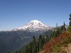 Mt. Rainier from Shriner Peak trail.