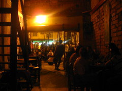 Bar next to Parque Periodista