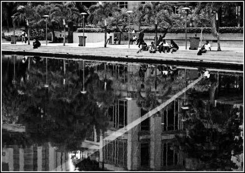 A day at the Kuala Lumpur City Center Park....