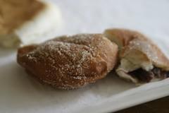 Red Bean Dougnut (craigbattle.com) Tags: china red canon shanghai paste bean 10d doughnut 28 tamron redbean redbeanpaste 28mm75mm