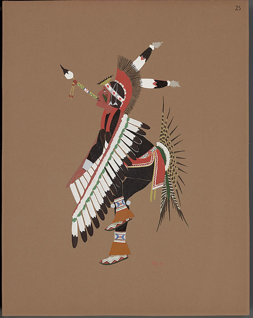 Eagle dance, 1929 - Stephen Mopope