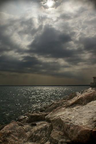 Nuvole sul Garda