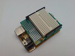 Arduino Protoboard Shield (m4rlonj) Tags: arduino protoboard freeduino