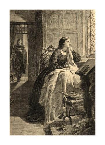 012- Waverley  la última visita a Flora MacIvor- Pintado por Herdman