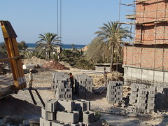 building a hotel in sousse (fbeljaars) Tags: hotel tunesia sousse tunesie