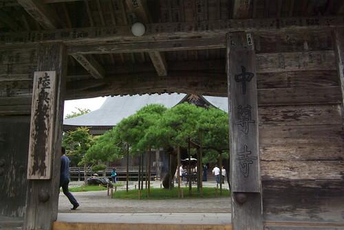 Chusonji temple (中尊寺)