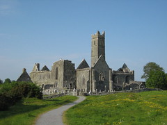 Abbey in Quin (tempusfugitx) Tags: ireland abbey quin