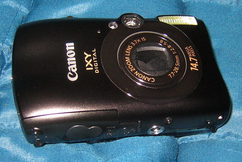 Unboxing the New Canon IXY 3000IS