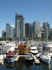 Coal Harbour, Vancouver (clearbrook4) Tags: vancouver marina sailboats coalharbour