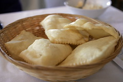 Like a sopapilla appetizer (smashz) Tags: italy food europe mexican pastry vinegar balsamic modena balsamico sopapillas aceto