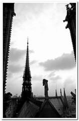 Parigi83-018 (Enrico Miglino) Tags: europa louvre monumento notredame poesia bianco antico nero paesaggio citt parigi metropoli grottesco miglino