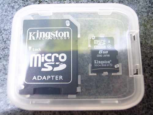 敗家:8GB Micro SD記憶卡