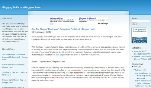 blogging-for-bread