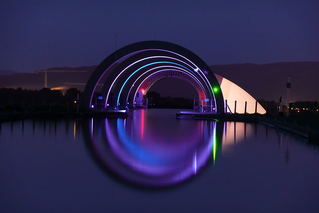 Falkirk Wheel (from the top)