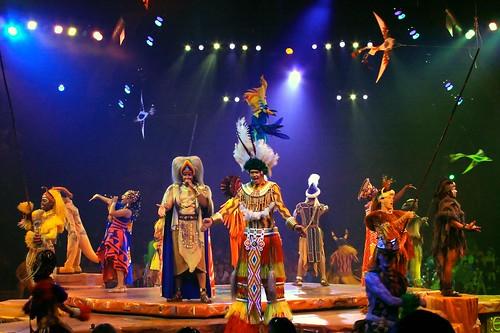 WDW Sept 2008 - Festival of the Lion King