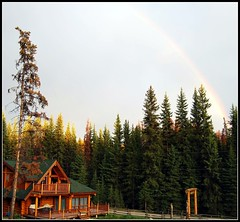 rainbow (tiffa130) Tags: house color green rainbow cabin nikon stock cottage creative free commons vert cc creativecommons stockphotos dslr colorgreen nikoncamera freepics flickrstock tiffa photobytiffany nikondslr facelake 10millionphotos milehighresort nikond40x d40x freestockphotos freestockphotography tiffanyday photosbytiffa photobytiffa