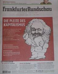 """2008 FR """"Die Pleite des Kapitalismus"""""""