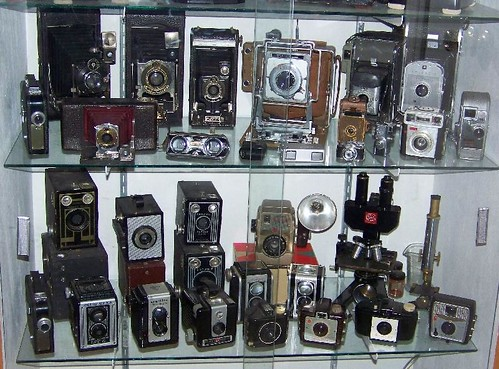 Cameras and Misc in the Case