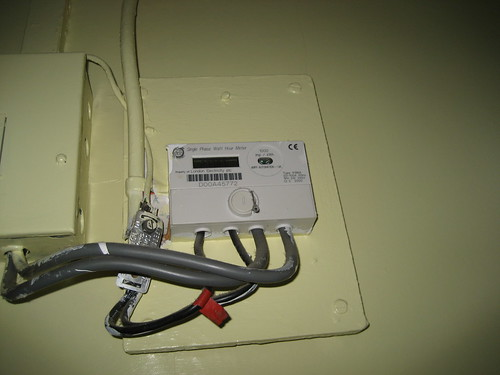 Digital Electricity Meter Hack 2010