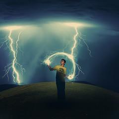 #219- (Andy Alcala) Tags: sky andy grass december hill lightning 365 2008 epic alcala project365 365days mrpuma andyalcala