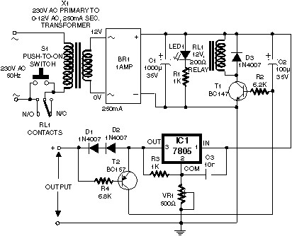 Self switching Power Supply