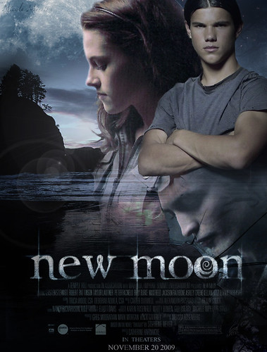 New Moon Poster by elphiegirl95.