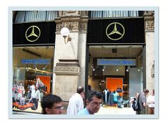 Negozio Mercedes Benz () Tags: milano miln