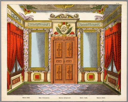 004- decorado para una escena de teatro