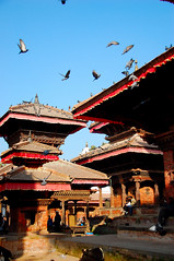 Kathmandu - Let's Go back in Time (friend_faraway *) Tags: nepal architecture temple ancient buddhism kathmandu hindu durbarsquare 5photosaday religiousbuilding