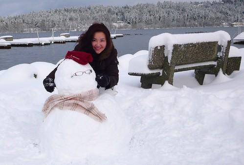 我的第一個雪人 (3)