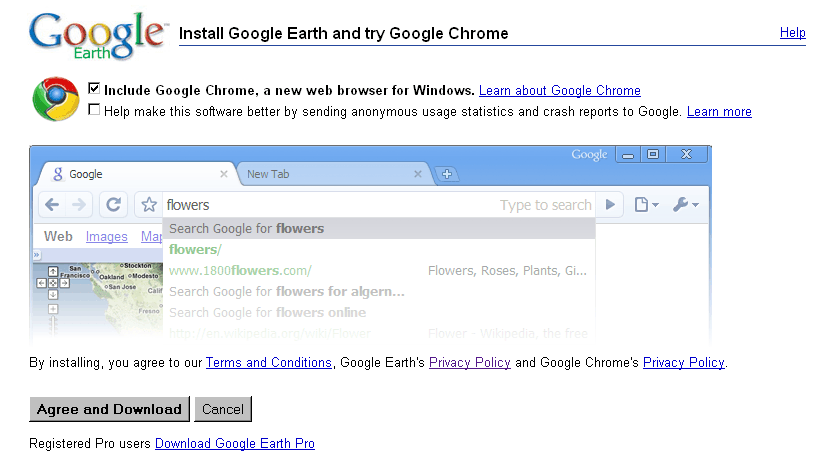 Earth + Chrome