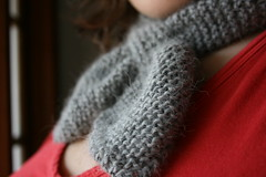 close up neck scarf