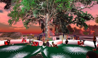 Natal na árvore da June