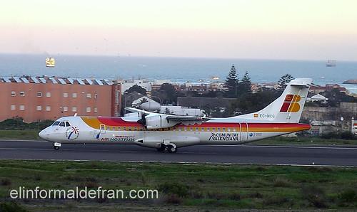 Comunicaciones en Melilla, Barco-Avión