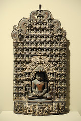 Altarpiece with Parsvanatha and Multiple Jinas (mark6mauno) Tags: sculpture simon museum nikon with norton copper multiple pasadena nikkor d3 alloy jinas altarpiece nortonsimonmuseum parsvanatha nikond3 2470mmf28g