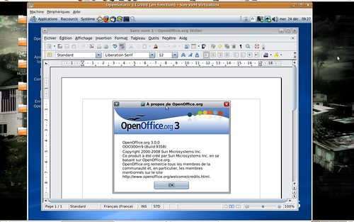 OpenOffice.org 3.0 sous OpenSolaris 11.2008