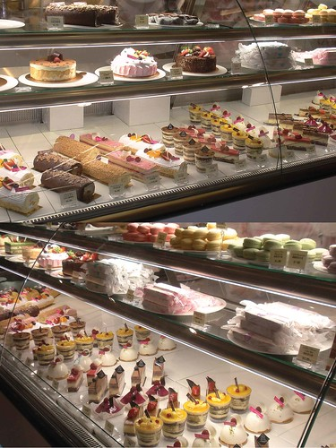 Glass display of the Icing Room