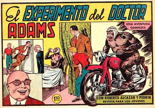 Roberto Alcázar vs. los Gorilas Asesinos