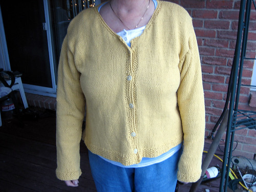 Cardigan Finished